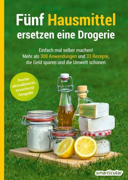 """""""Fünf Hausmittel ersetzen eine Drogerie"""", Buch, 194 Seiten"""