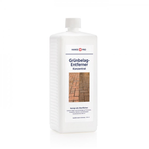 HANSE PRO Grünbelag-Entferner Konzentrat (20%) 1 Liter / 1 Stück